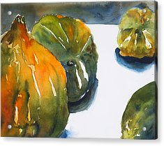 Acorn Squash Acrylic Print by Tom Simmons