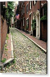 Acorn Street Boston Acrylic Print