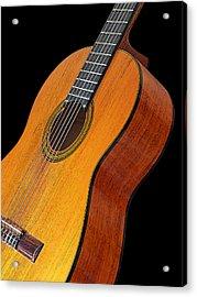 Acoustic Guitar Acrylic Print