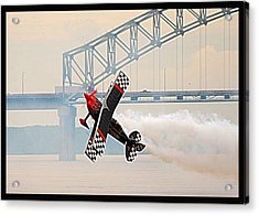 Acrobatic Plane Acrylic Print
