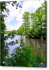 Acrylic Print featuring the photograph Across Crystal Lake by Jim Whalen