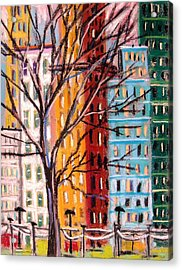 Across From The Park Acrylic Print