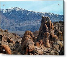 Across Owens Valley - U.s. Highway 395 Acrylic Print