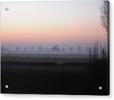 Across The Fen Acrylic Print