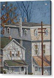 Across The Street Acrylic Print