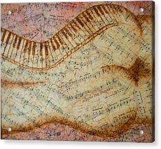 Across The Universe Acrylic Print by Abigail Avila
