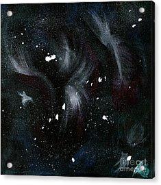 Across The Universe  Acrylic Print by Katy  Scott