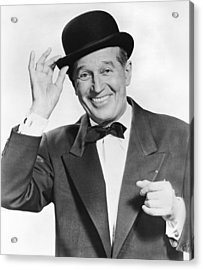 Actor Maurice Chevalier Acrylic Print by Underwood Archives