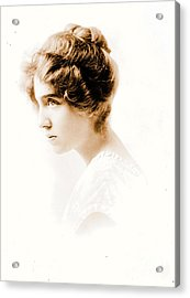 Actress Julie Herne C1900 Acrylic Print by Padre Art