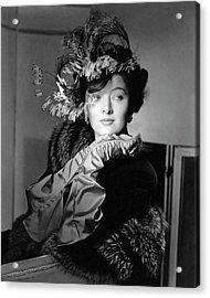 Actress Myrna Loy Acrylic Print