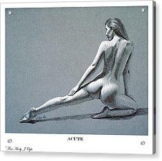 Acute Print Version Acrylic Print
