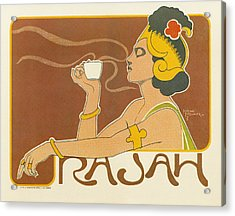 Ad Coffee, 1897 Acrylic Print by Granger