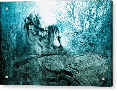adagio for a broken dream II Acrylic Print by Joachim G Pinkawa