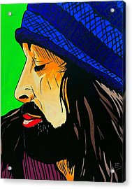 Adam Duritz Counting Crows Acrylic Print