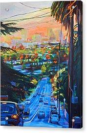 Towards The Light Acrylic Print by Bonnie Lambert