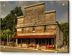 Adams Old Country Store Acrylic Print