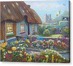 Adare Gardens Co Limerick Acrylic Print by Tomas OMaoldomhnaigh