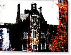 Acrylic Print featuring the photograph Adare Manor by Charlie and Norma Brock