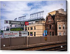 Addison Street Station Acrylic Print by Tom Gort