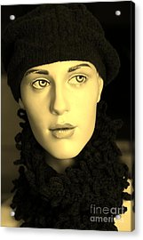 Adele 3 Acrylic Print by Sophie Vigneault