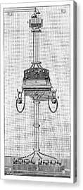 Ader Telephone Station Acrylic Print by Science Photo Library