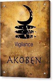 Adinkra  Akoben Acrylic Print