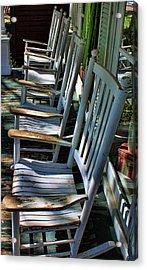 Adirondack Chairs Skaneateles Ny Acrylic Print