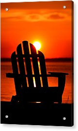 Adirondack Days End Acrylic Print