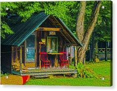 Adirondack Retreat Acrylic Print