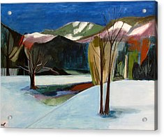 Adirondacks Acrylic Print by Betty Pieper