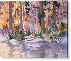 Admiralty Forest For Fran Acrylic Print
