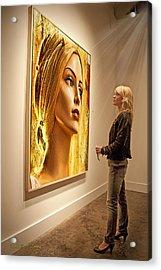 Admiring Beauty Acrylic Print
