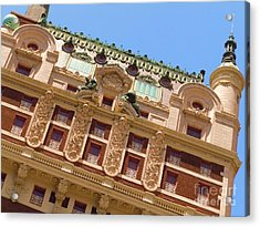 Acrylic Print featuring the photograph Adolphus Hotel - Dallas #1 by Robert ONeil