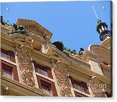 Acrylic Print featuring the photograph Adolphus Hotel - Dallas #2 by Robert ONeil