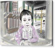 Adora 9th Portrait Acrylic Print by Yoshiyuki Uchida
