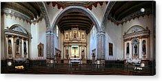 Adoration - Mission San Luis Rey De Francia  Acrylic Print