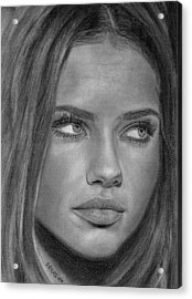 Adriana Lima 2 Acrylic Print