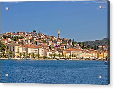 Adriatic Town Of Mali Losinj View From Sea Acrylic Print