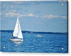 Adrift In The Atlantic Acrylic Print