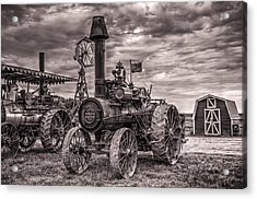 Advance Steam Traction Engine Acrylic Print