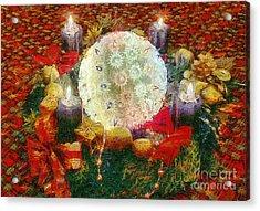 Advent  Acrylic Print by Odon Czintos