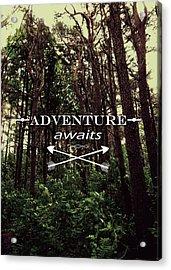 Adventure Awaits Acrylic Print by Nicklas Gustafsson
