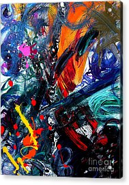 Acrylic Print featuring the painting Adventure by Christine Ricker Brandt