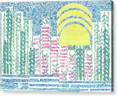 Cloud City Acrylic Print