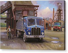Aec Mercury Tipper. Acrylic Print by Mike  Jeffries