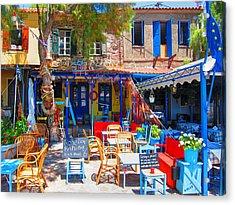 Aegean Colors Acrylic Print