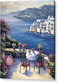 Aegean Vista Acrylic Print