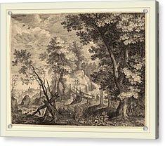 Aegidius Sadeler II After Roelandt Savery Flemish Acrylic Print