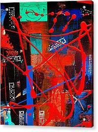 Aerial 2 Acrylic Print by Carolyn Repka