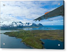Aerial Alaska Acrylic Print
